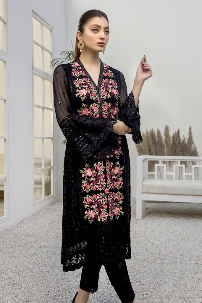 Azure Luxury Formal Kurtis 2021 – Noir Beaute
