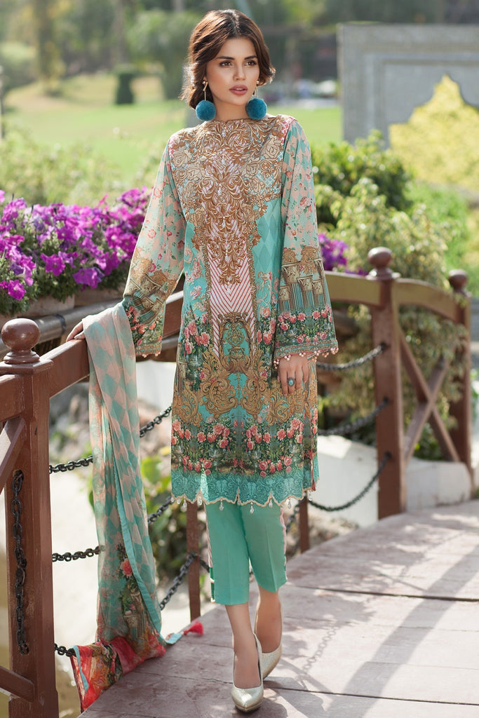 Mausummery Spring/Summer Lawn Collection 2017 – Paradise Island