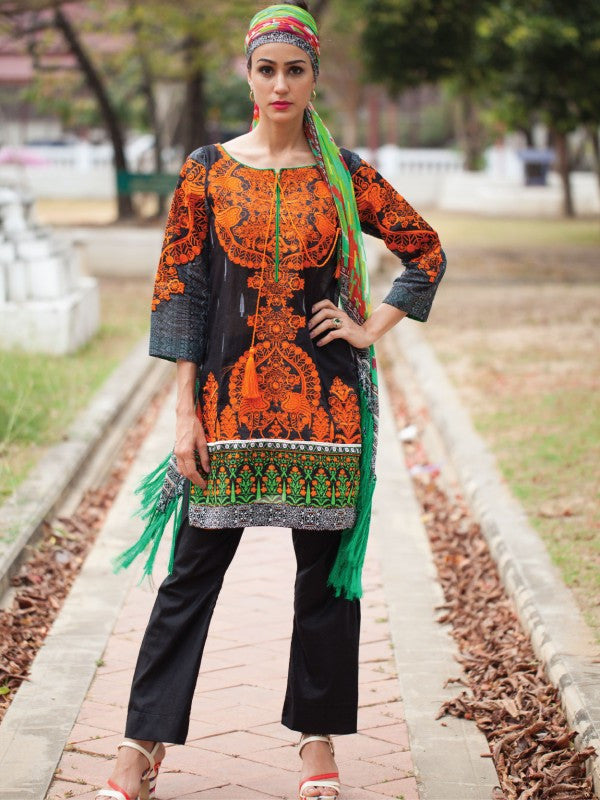 Rehaab Lawn Collection '16 – Bird Of Paradise RJ-160048 - YourLibaas  - 1