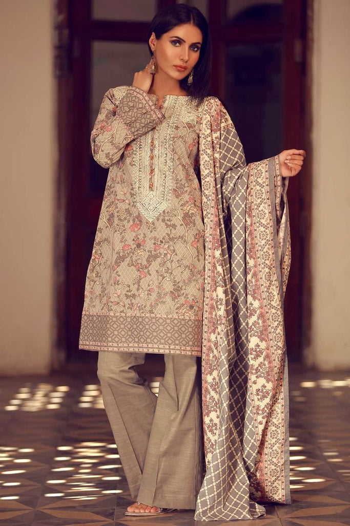 Khaadi Winter Tales Vol-2 – PVB17701-Grey-3Pc