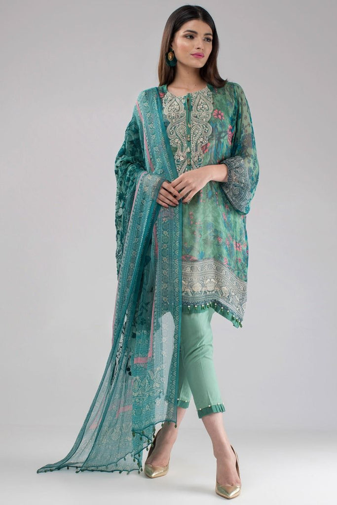 Khaadi Luxury Collection 2018 – Q18201 Green