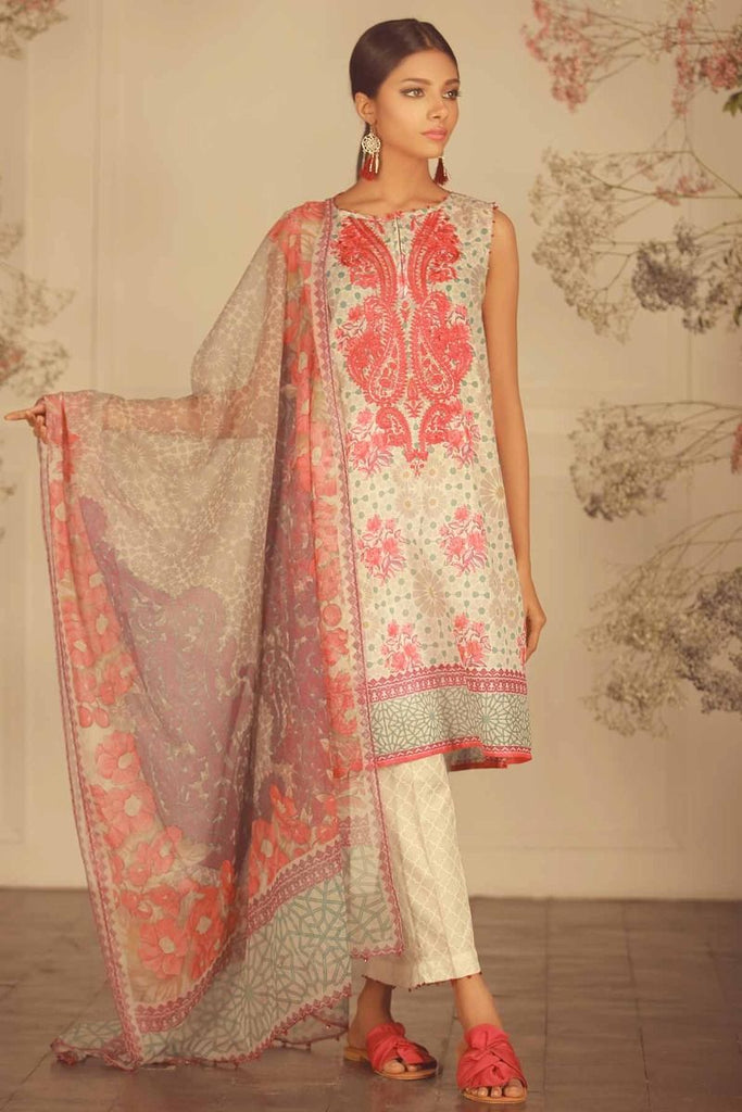 Khaadi Luxury Collection 2018 – R18205 Grey