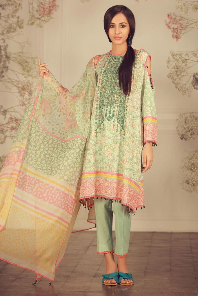 Khaadi Luxury Collection 2018 – R18206 Green