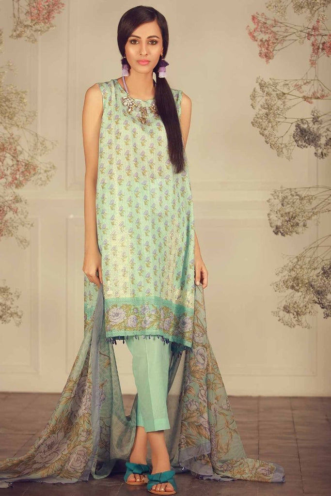 Khaadi Luxury Collection 2018 – R18208 Blue