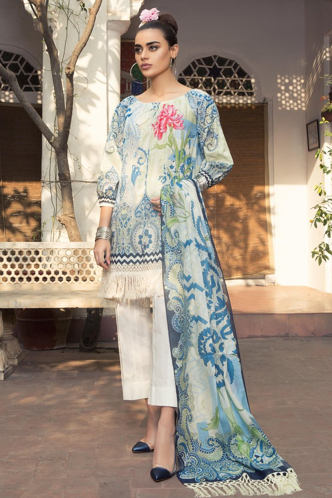 Sapphire Spring/Summer Lawn 2018 Vol-1 – Palatial Ming A
