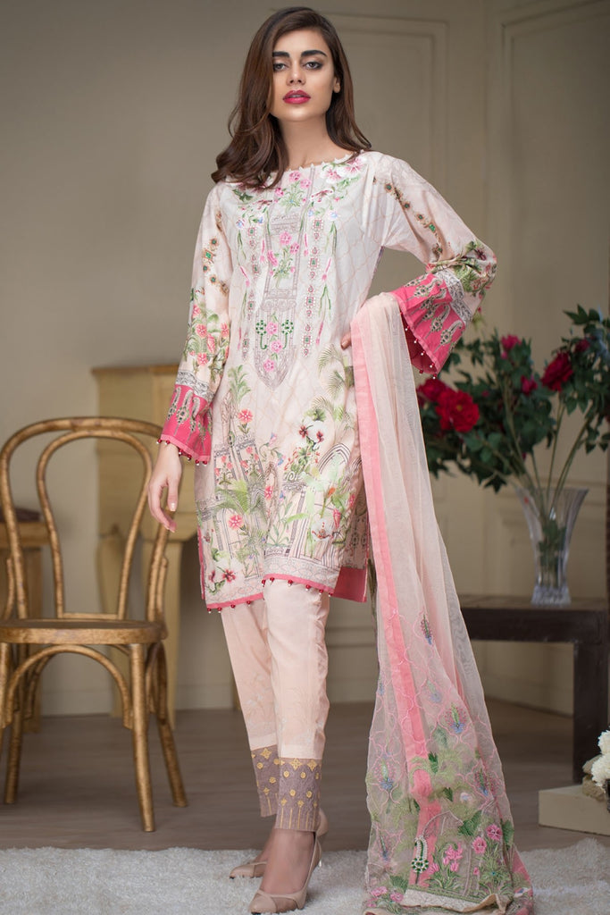 Firdous Malhar Lawn Collection 2018 – MAL-02