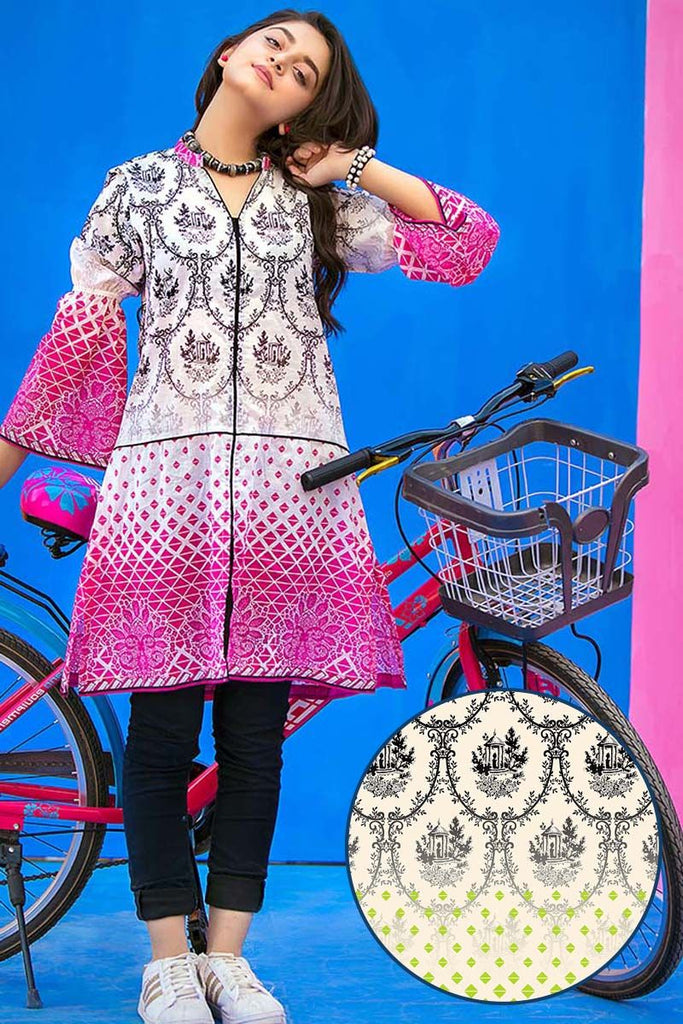 Gul Ahmed YOLO Collection 2018 – Green 1 Pc Printed Lawn Shirt SL-426 B
