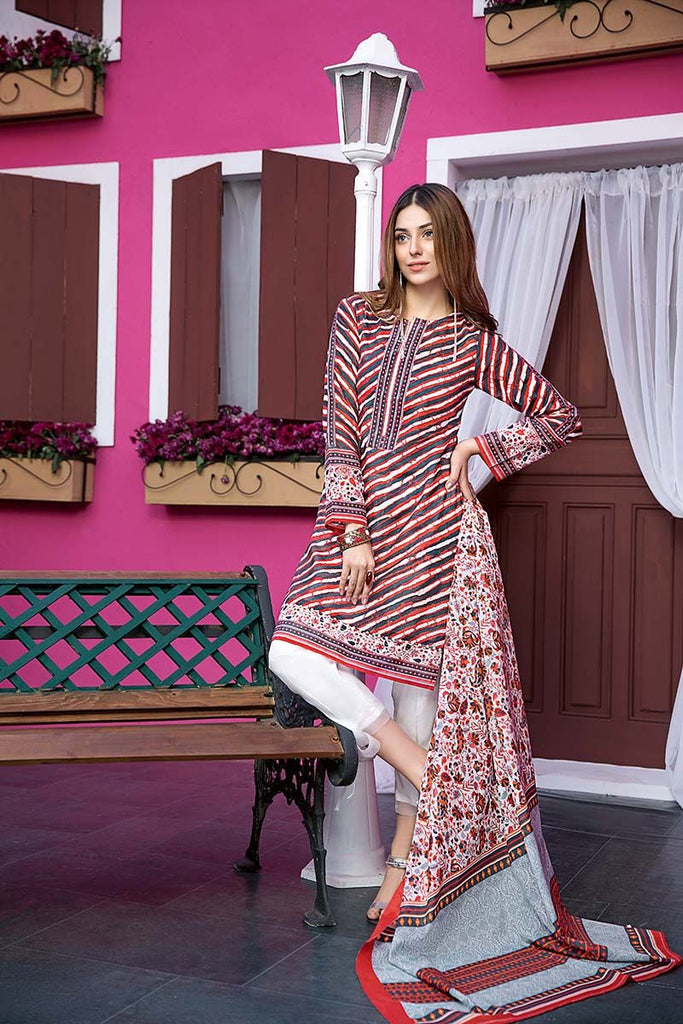 Gul Ahmed Summer Essential Collection 2018 – Multi 2 Pc Printed Lawn TL-110 A
