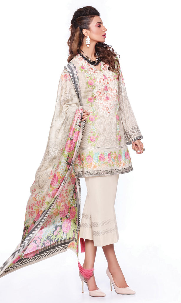 Sapphire Lawn Collection 2016 – Eid Edition –  Russian Curlicue A - YourLibaas  - 1