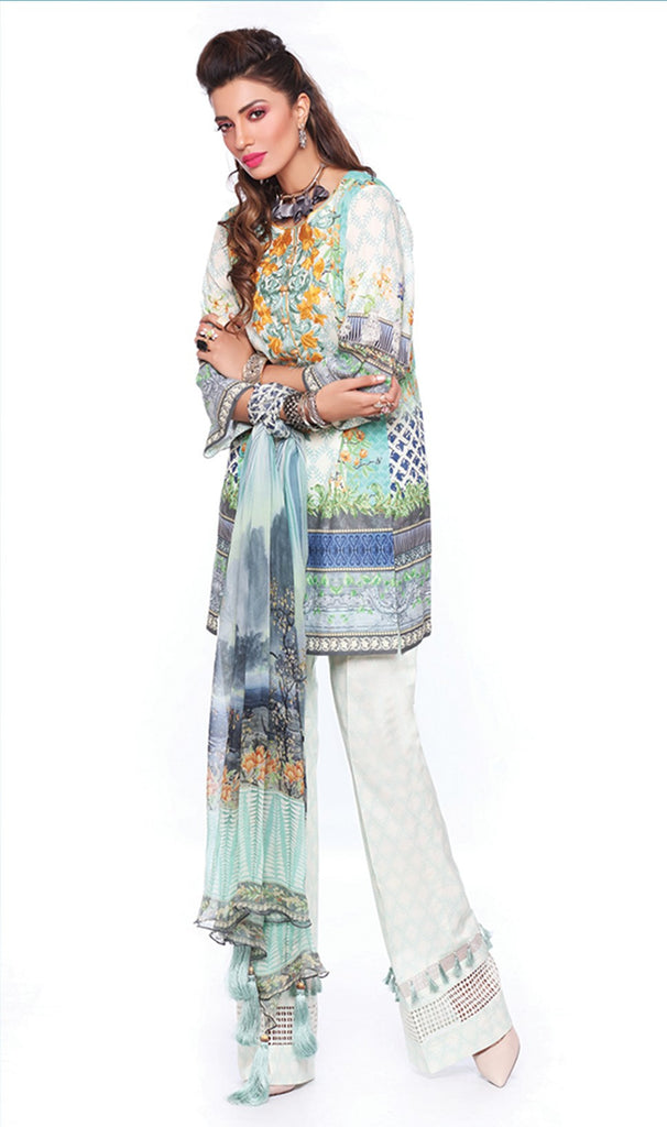 Sapphire Lawn Collection 2016 – Eid Edition –  Chinese Twill B - YourLibaas  - 1