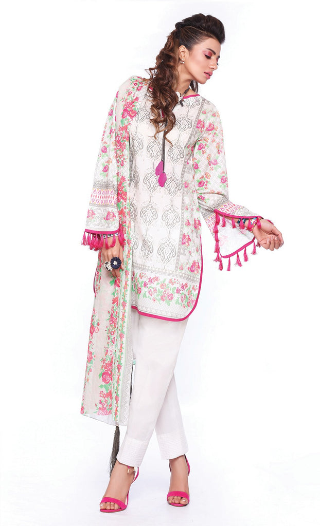 Sapphire Lawn Collection 2016 – Eid Edition – Victorian Spring B - YourLibaas  - 1