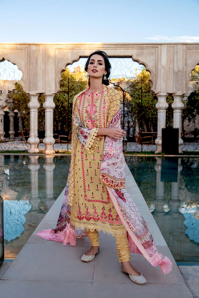 Sobia Nazir Vital Lawn Collection 2020 – Design 1A