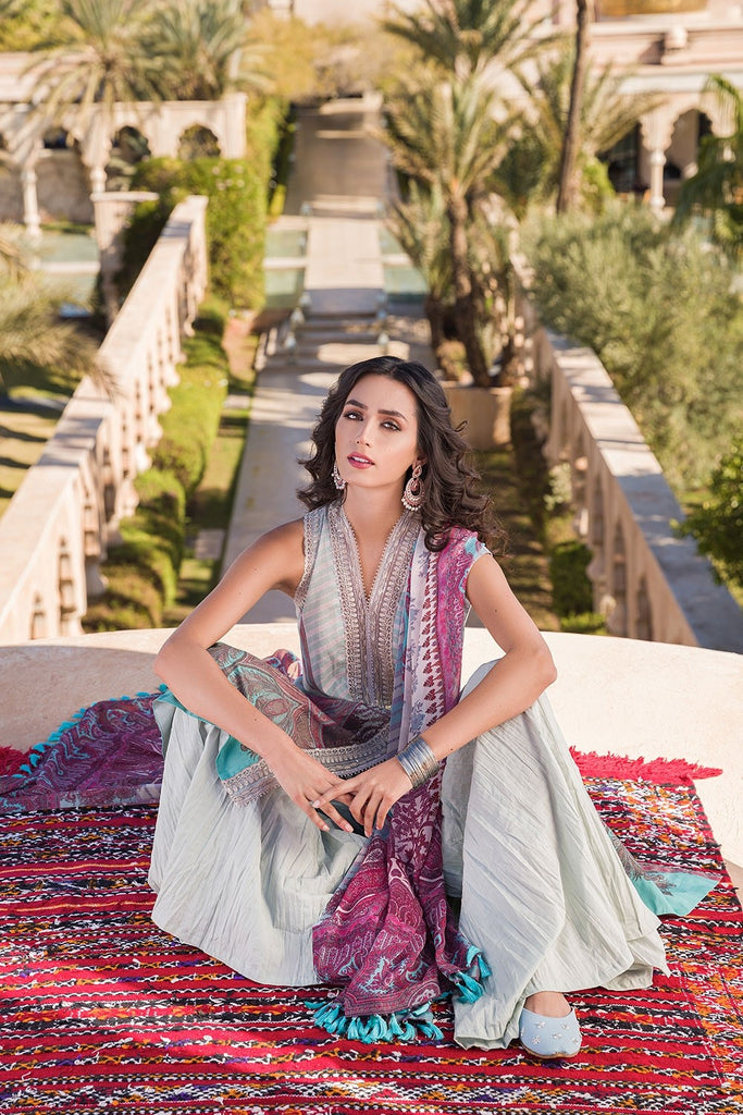 Sobia Nazir Vital Lawn Collection 2020 – Design 9B