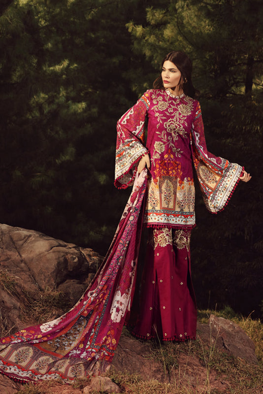 Noor Winter Collection 2017 by Saadia Asad – 03 Mughal Tale
