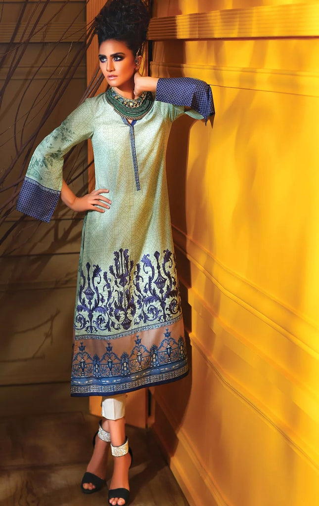 Lala Magnifique Kurti Collection '16 – MAK06 - YourLibaas  - 1