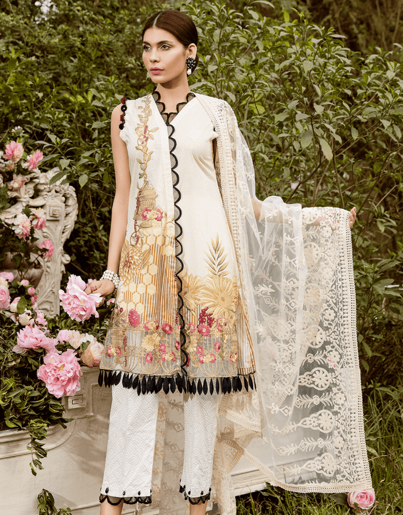 Rang Rasiya Zinnia Lawn Collection – 2004 A