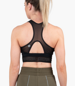 Ethos Reflective Sports Bra | Black