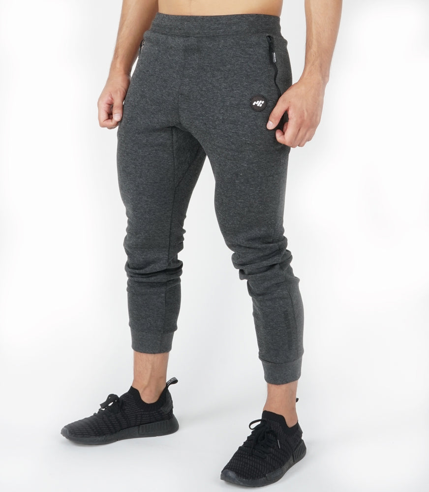 Fitted Joggers | Charcoal
