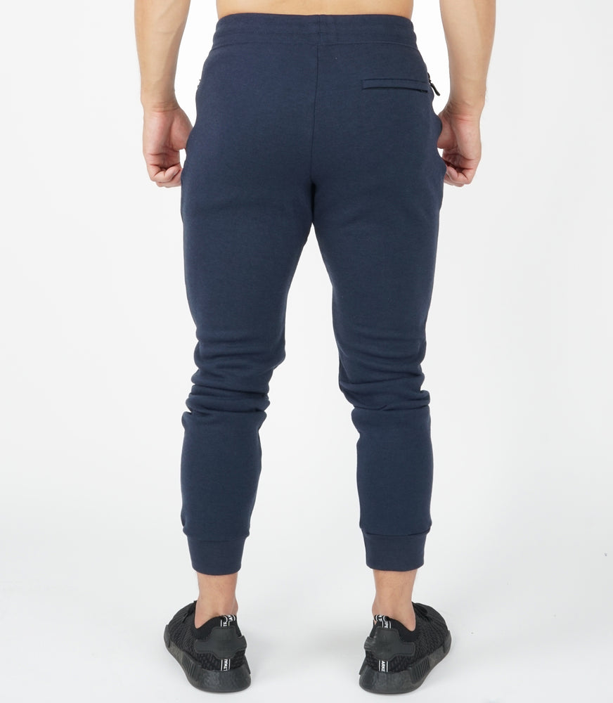 Fitted Joggers | Navy