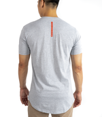 OG Scallop Tee | Heather Grey