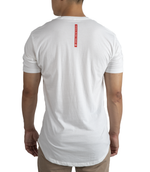 OG Scallop Tee | White
