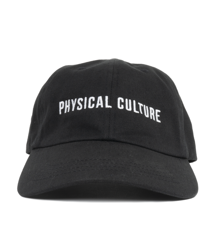 Physical Culture Dad Hat | Black