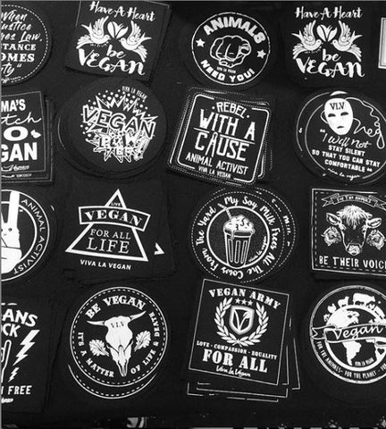 Patches. Sew on and Iron on