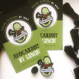 avocardist badge, sold by ethical fashion brand Viva La Vegan.