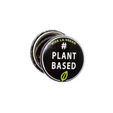 Plant based badge, sold by ethical fashion brand Viva La Vegan.