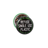 Refuse single use plastic, sold by ethical fashion brand Viva La Vegan.