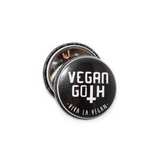 Vegan Badge : Vegan Goth