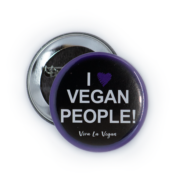 I love vegan people, sold by ethical fashion brand Viva La Vegan.