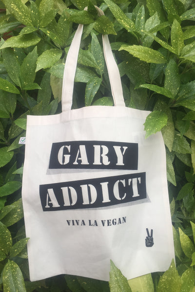 1.Bag: Gary Addict. LIMITED EDITION Organic Tote Shopper *SALE*