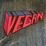 Embroidered Patch - VEGAN perspective