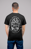 vegan tshirt : Silence is not an option. Back. by eco-ethical brand Viva La Vegan