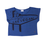 Fabulous Las Vegan Womans Organic Graphic T-shirt Detail