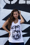 may our hearts overcome our appetites tshirt, sold by ethical fashion brand Viva La Vegan.
