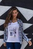 somebunny to love tshirt, sold by ethical fashion brand Viva La Vegan.