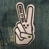 Embroidered Vegan Patch . VLV Signature Bunny
