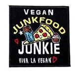 Embroidered Patch - Junk Food Junkie