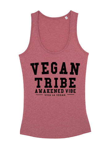 Vegan Tribe Vest, sold by ethical fashion brand Viva La Vegan.
