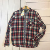 VLVV Women's Reworked Check Shirt.