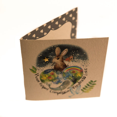 Greetings Card: Global Compassion