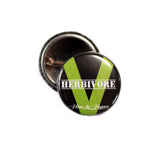 Herbivore badge, sold by ethical fashion brand Viva La Vegan.