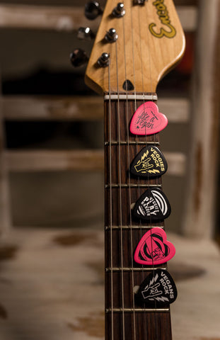 statement plectrums, sold by ethical fashion brand Viva La Vegan.