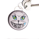 Bottle Opener Keyring : The Cat That Got The Soy