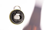 "Bottle Opener Keyring : Vegan ""Your Place Or Mine?"""