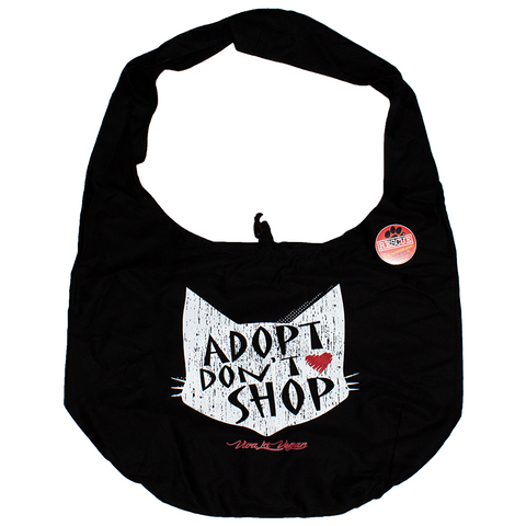Adopt don't shop bag, sold by ethical fashion brand Viva La Vegan.