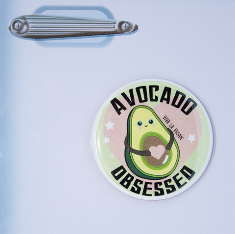 Vegan Magnet: Avocado Obsessed