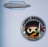 plant assassin fridge magnet, sold by ethical fashion brand Viva La Vegan.